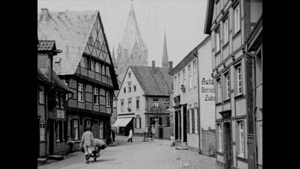 Historische Bilder aus Soest Thomästrasse in Soest mit freundlicher Genehmigung des LWL-Münster