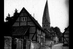 Historische Bilder aus Soest  Schiefer Turm Thomästrasse mit freundlicher Genehmigung des LWL-Münster