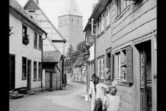 Historische Bilder aus Soest Soest, Paulistrasse und Paulikirche mit freundlicher Genehmigung des LWL-Münster