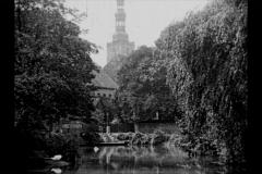 Historische Bilder aus Soest  Grosser Teich mit Petrikirchemit freundlicher Genehmigung des LWL-Münster