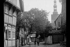 Historische Bilder aus Soest Höggenstrasse in Soest mit freundlicher Genehmigung des LWL-Münster