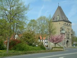 Osthofentor in Soest als Teil der Wallanlage