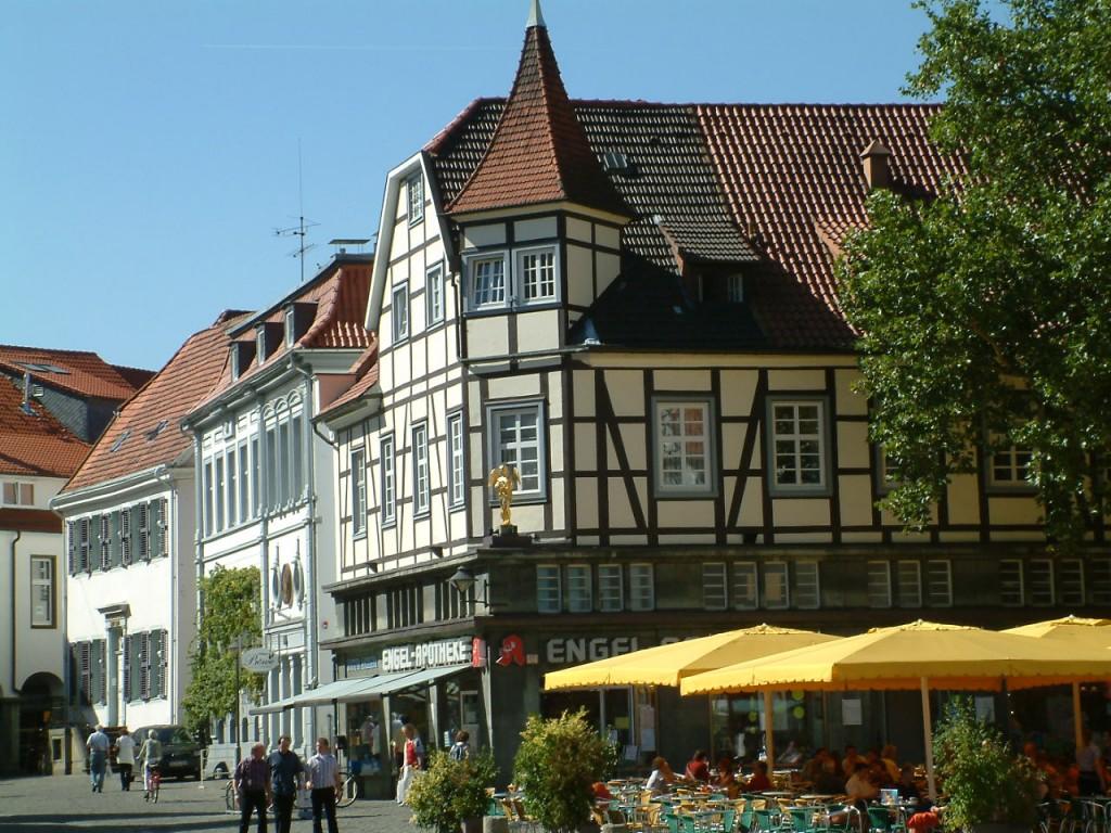 Der Soester Marktplatz im Sommer ©Werner Tigges