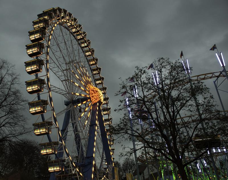 Riesenrad auf der Allerheiligenkirmes in Soest