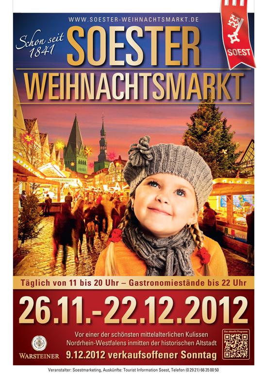 Programm Soester Weihnachtsmarkt 2012