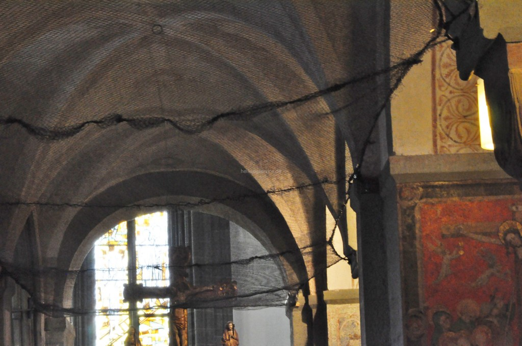 Netz in der Petrikirche Soest- Bildrechte: Werner Tigges