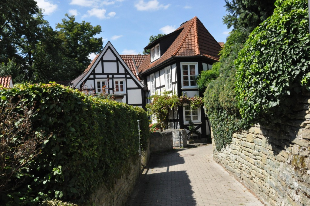 Bachsteingasse in Soest