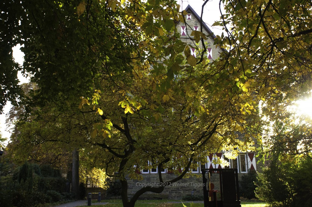 Burghofmuseum Soest in der Herbstsonne