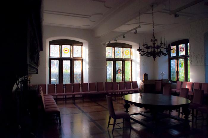 Der Rittersaal im Burghofmuseum Soest