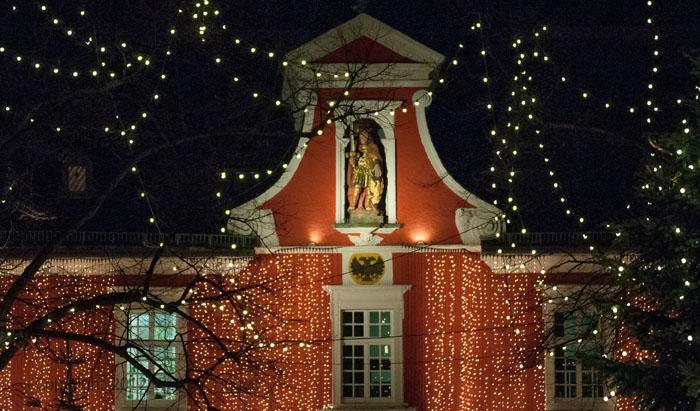 Das Soester Rathaus zur Weihnachstszeit ©Werner Tigges