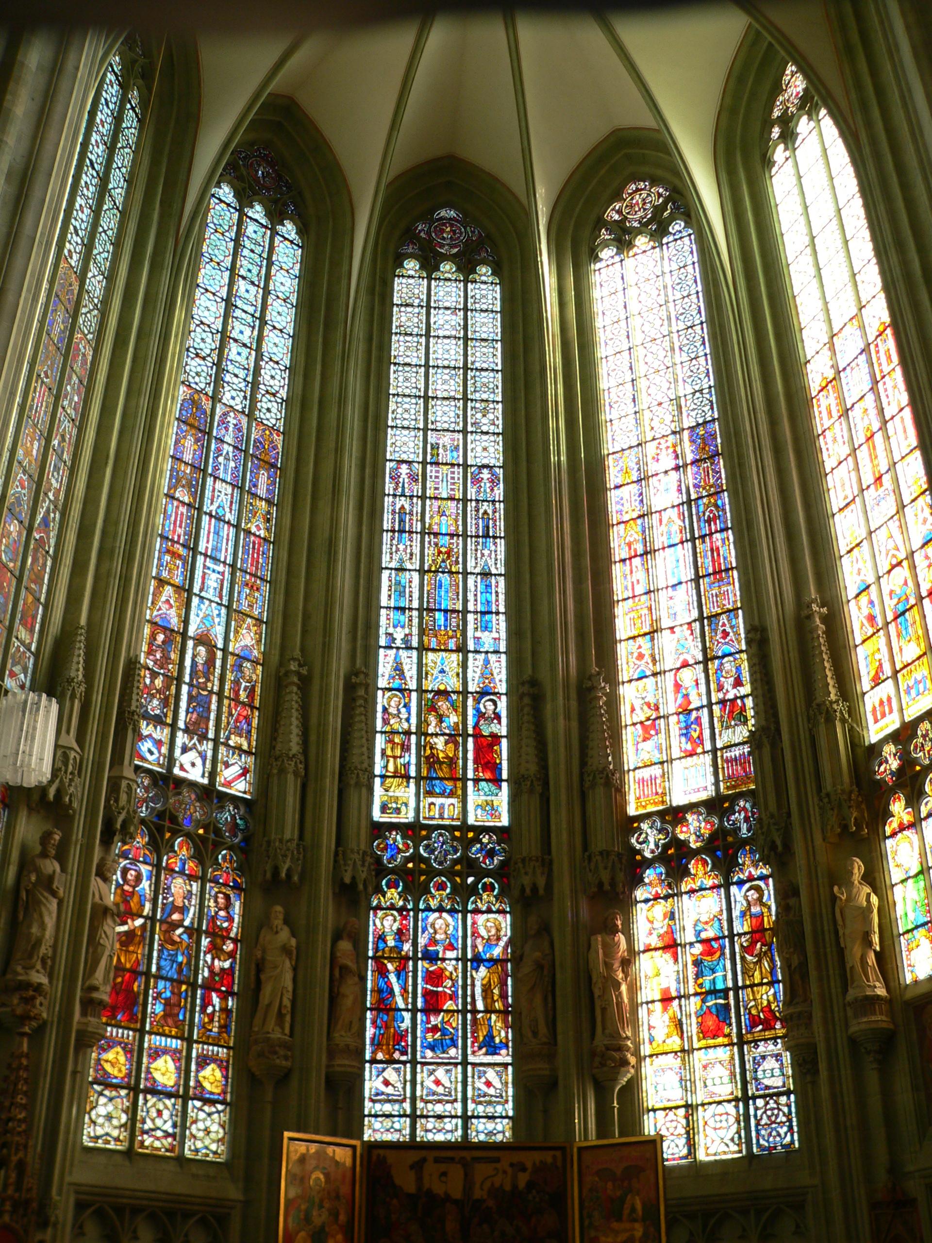 Die Fenster der Wiesenkirche in Soest