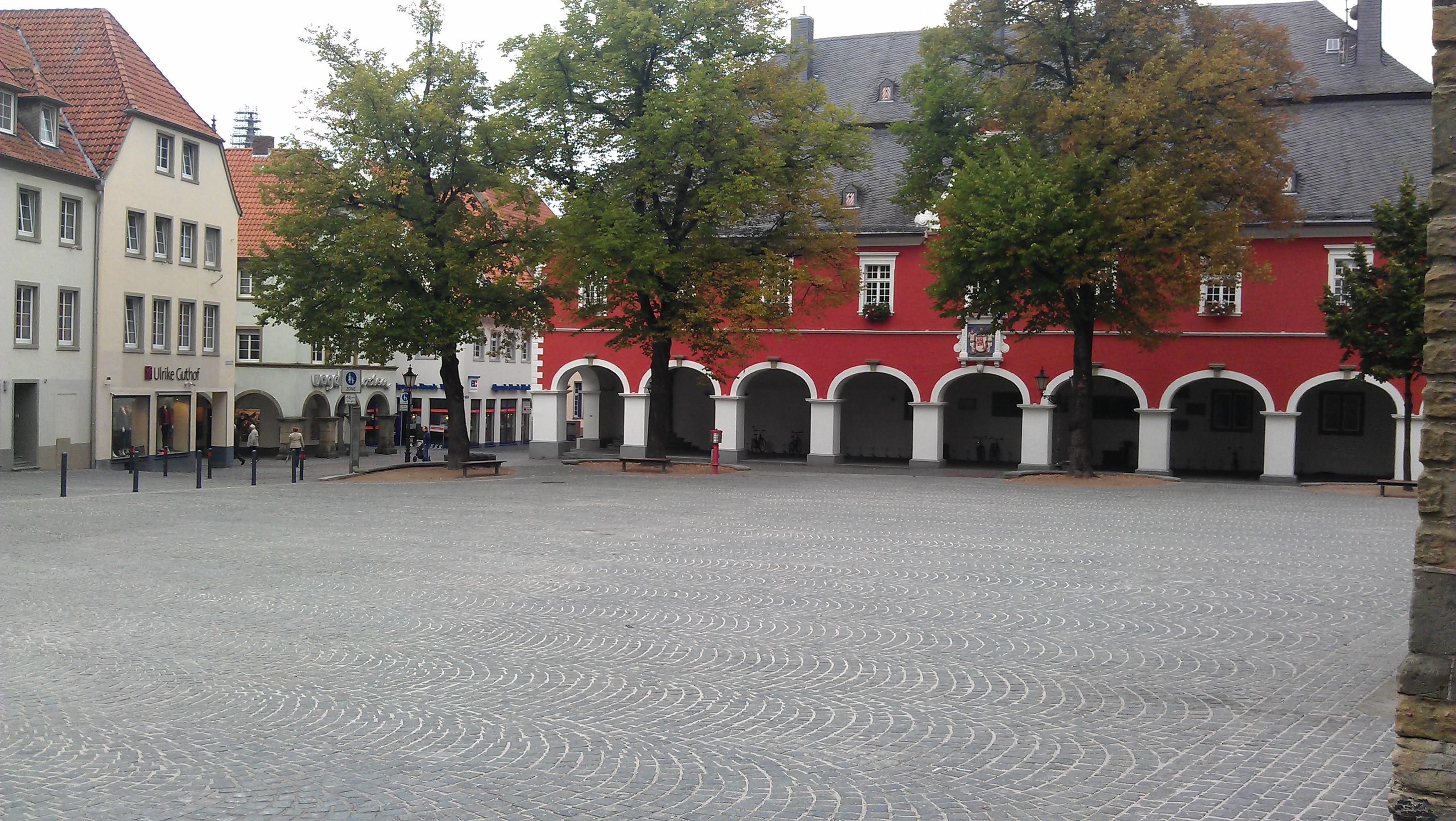 Nördlicher Petrikirchhof in Soest