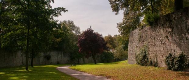 Die Gräfte mit Wall in Soest © Werner Tigges