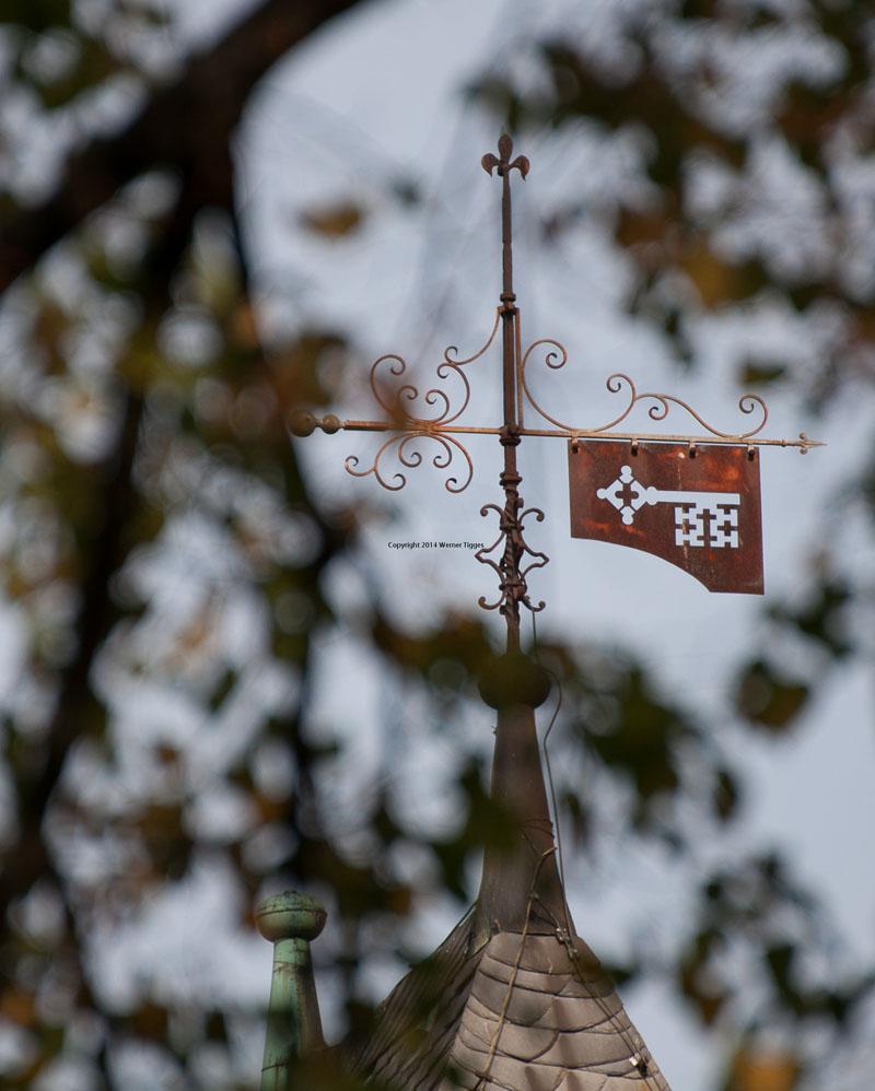 Soester Schlüssel auf dem Osthofentor in Soest ©Werner Tigges