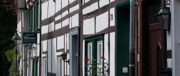 Fachwerk in der Osthofenstrasse ©Werner Tigge