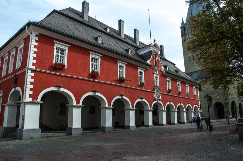 Das Rathaus von 1713 © Werner Tigges