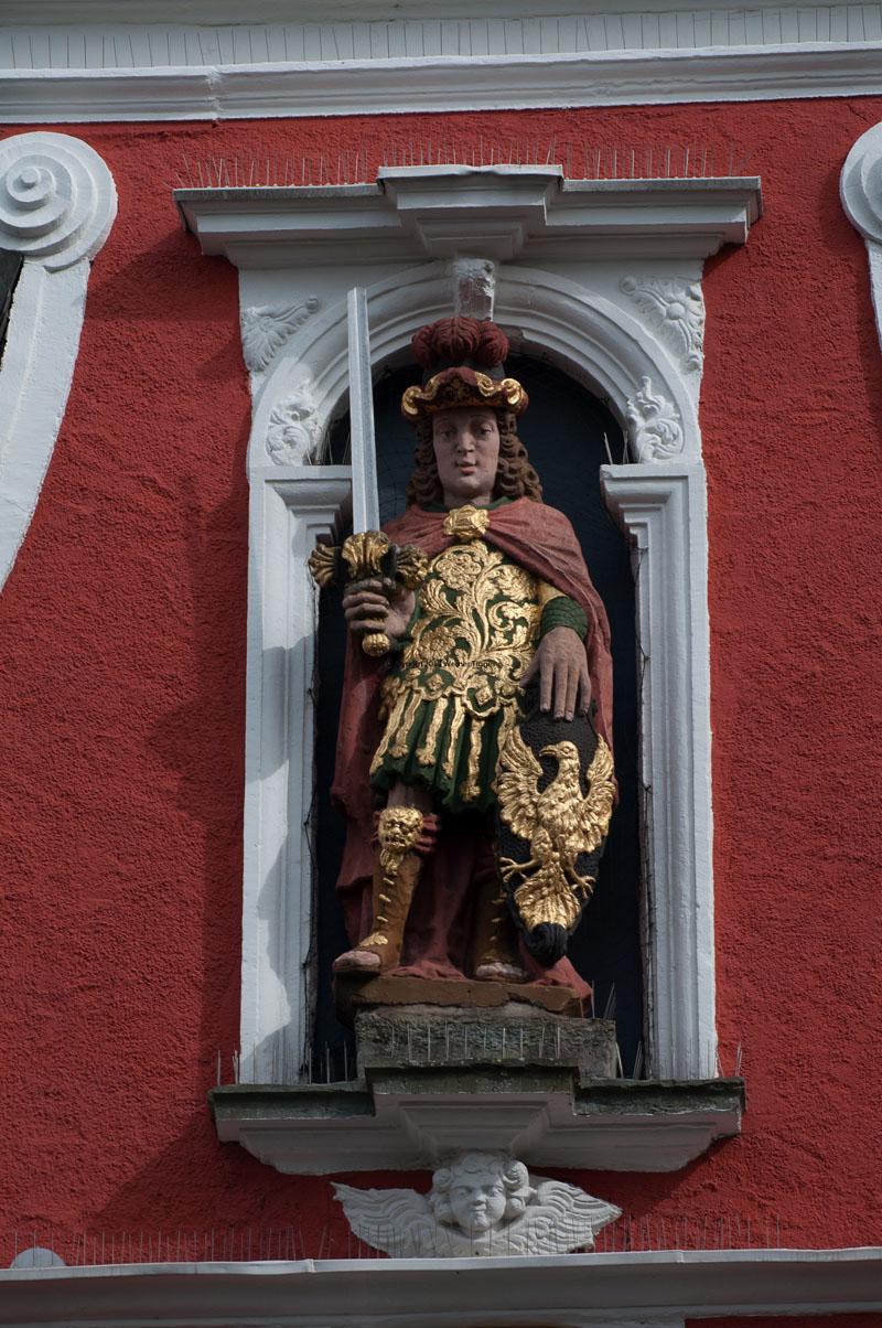 Patroklus am Rathaus Soest © Werner Tigges