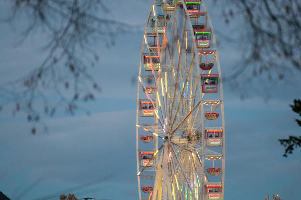 Riesenrad auf der Soester Allerheiligenkirmes ©für alle Bilder: Werner Tigges