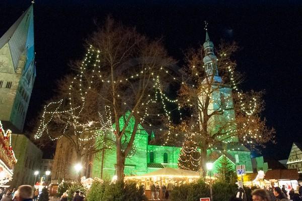 Der Petrikirchhof in Soest zum Soester Weihnachtsmarkt