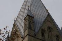 Der Turm (Westwerk) des Patrokli Dom in Soest © Werner Tigges
