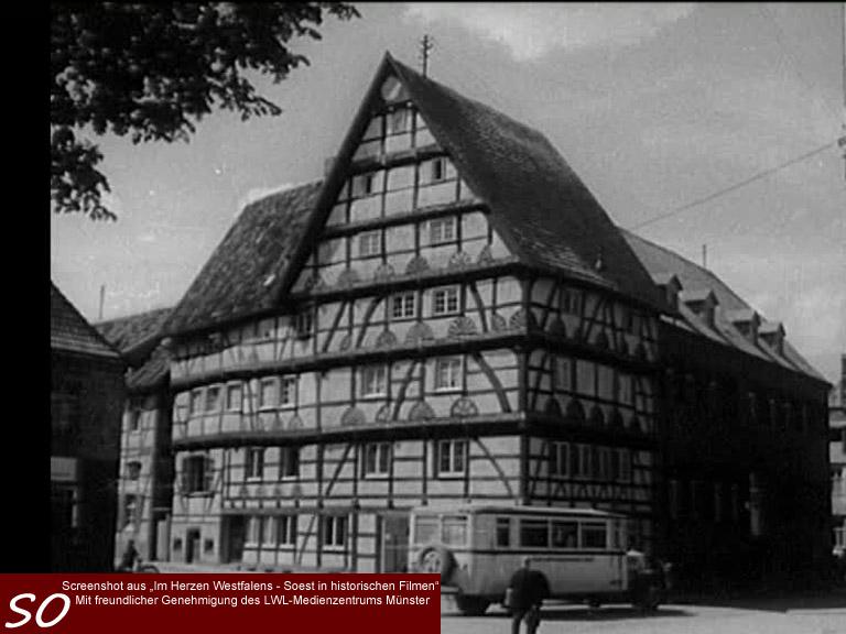 Das Haus zur Rose (Freiligrathhaus) in Soest