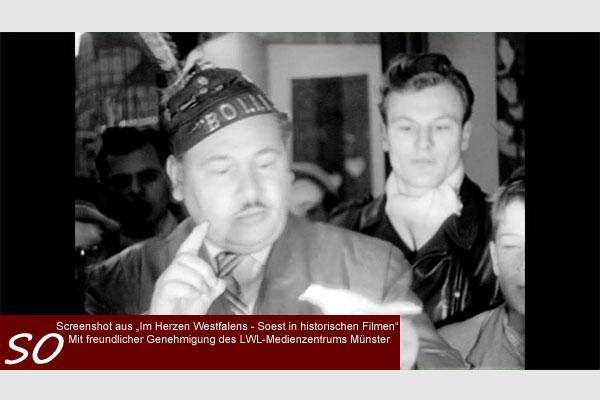 Allerheiligenkirmes Soest in den 1950er Jahren auf stadtfuehrung-soest.de