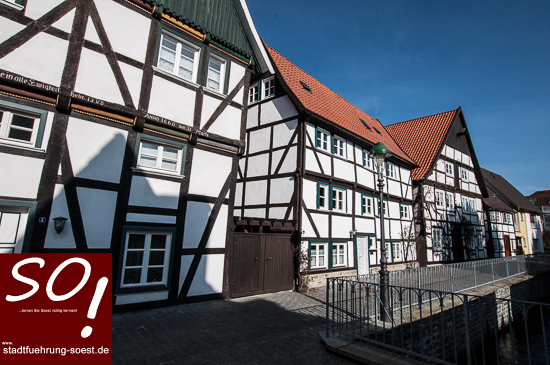 stadtfuehrung-soest.de Soest Sälzerviertel Am Loerbach ©W. Tigges