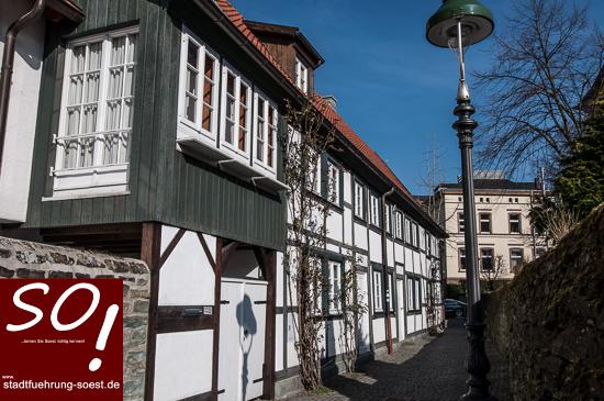 stadtfuehrung-soest.de Soest Schwarzeborngasse ©W. Tigges