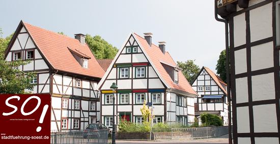 stadtfuehrung-soest.de Soester Fachwerk Am Damm ©W. Tigges