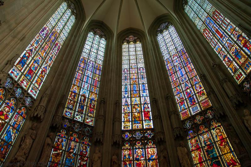 Die Wiesenkirche in Soest gotische Fenster ©W. Tigges