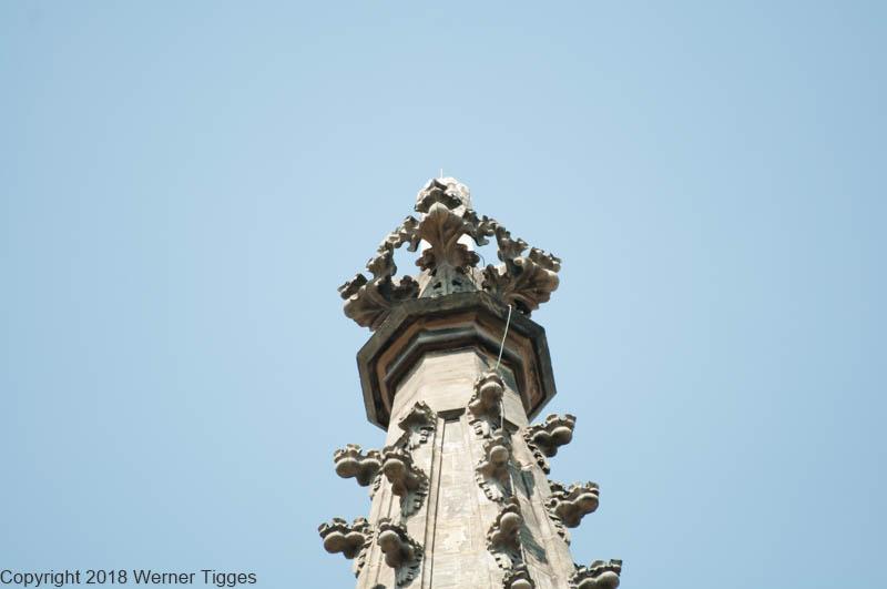 Turmspitze Die Wiesenkirche in Soest ©W. Tigges