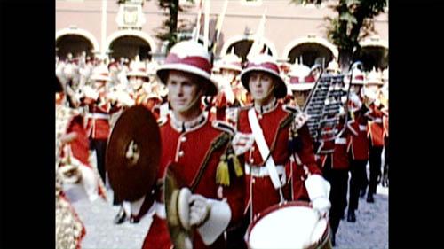 Historisches Soest Kanadische Soldaten bei der Übergabe der Soester Stadtrechte