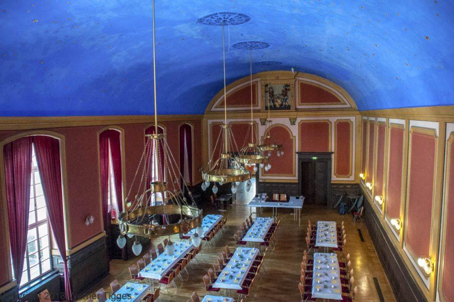 Der Blaue Saal Das Soester Rathaus von 1713 für stadtfuehrung-soest.de