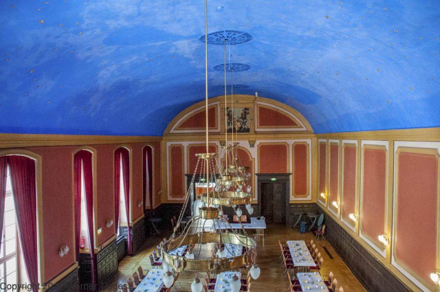 Der blaue Saal - Das Soester Rathaus von 1713 für stadtfuehrung-soest.de