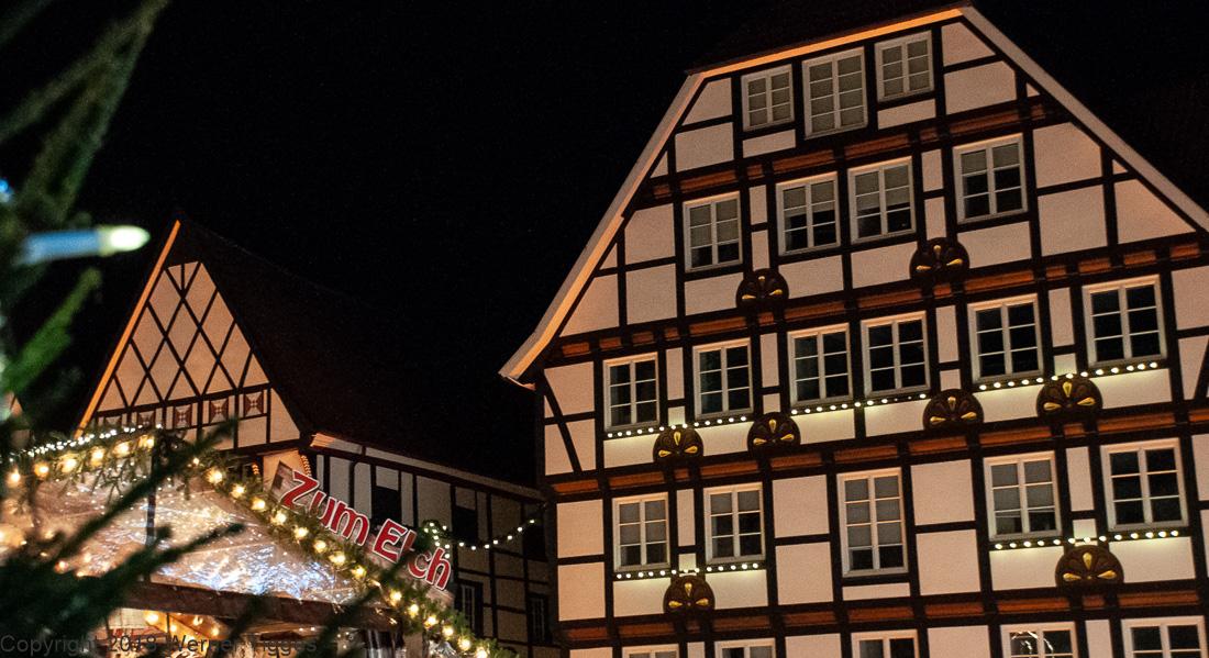 Soester Weihnachtsmarkt - Der Marktplatz in Soest - für stadtfuehrung-soest.de ©W. Tigges
