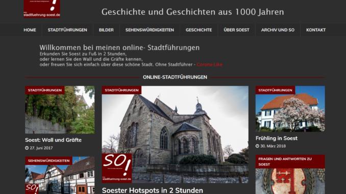 Screenshot stadtfuehrung-soest.de ©W. Tigges