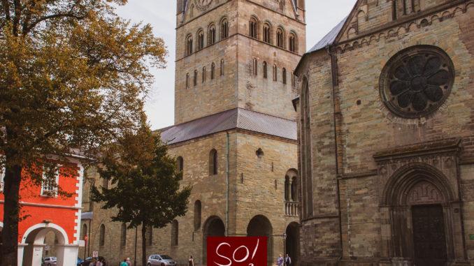 Dom, Petrikirche und Rathaus in Soest