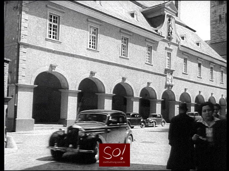 Historisches Soest  aus den 1950 er Jahren