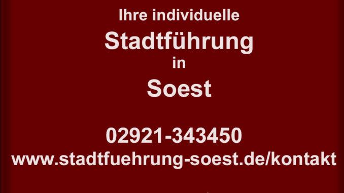 Stadtführung in Soest buchen