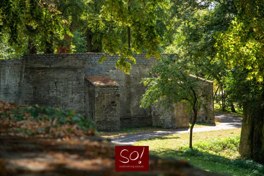 Wall in Soest Die Gräfte Stadtführung in Soest
